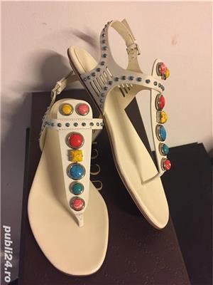 Sandale Gucci luxury,catwalk collection,produs original - imagine 2