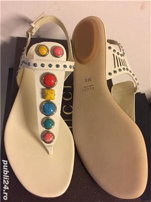 Sandale Gucci luxury,catwalk collection,produs original - imagine 3