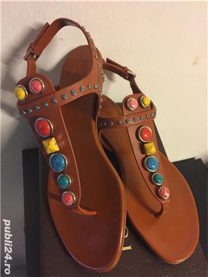 Sandale Gucci luxury,catwalk collection,produs original - imagine 6