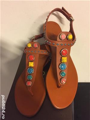 Sandale Gucci luxury,catwalk collection,produs original - imagine 5