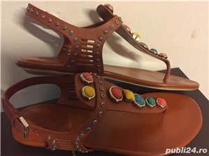 Sandale Gucci luxury,catwalk collection,produs original - imagine 8