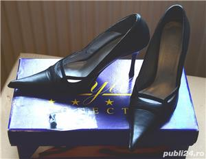 pantofi piele coryllus 36 - imagine 1