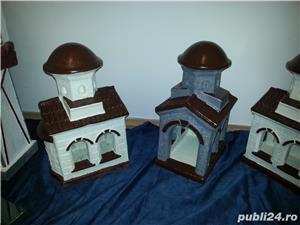 biserica in miniatura, figurine beton, amenajari exterior - imagine 4