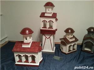 biserica in miniatura, figurine beton, amenajari exterior - imagine 5
