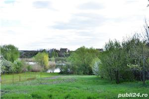 Vanzare teren si casa batraneasca Tancabesti, 19 ml deschidere Lacul Snagov - imagine 1
