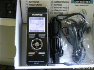 4GB reportofon ultra-profesional Olympus DM-550 ca nou - imagine 1