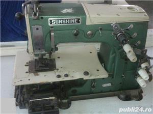 Masina de cusut industrial, ornamental cu 4 ace Sunshine - imagine 2
