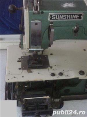 Masina de cusut industrial, ornamental cu 4 ace Sunshine - imagine 3