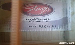 chitara acustica electroacustica - imagine 10