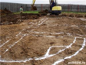 Executam fundatii, drenaje, retele apa, canalizare - imagine 1