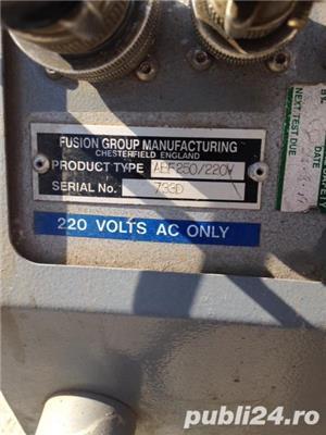Inchiriez masina de lipit cap cap Fusion ABF 250 - automata - imagine 1