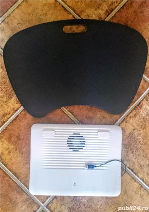 Ventilator (cooler) si suport laptop   - imagine 1