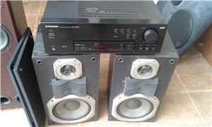 pachet boxe top sound 140 cu amplificator kenwood - imagine 9
