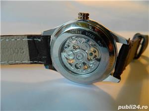 Ceas barbatesc automatic Rotary Skeleton - imagine 3