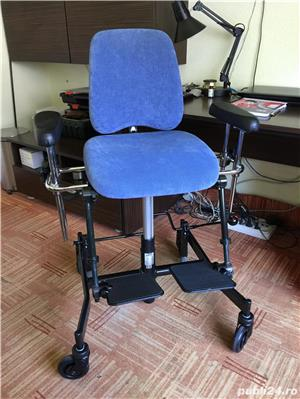 Scaun de pozitionare lucru handicap dizabilitati - imagine 9