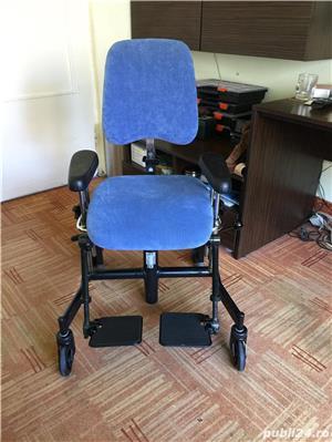 Scaun de pozitionare lucru handicap dizabilitati - imagine 3