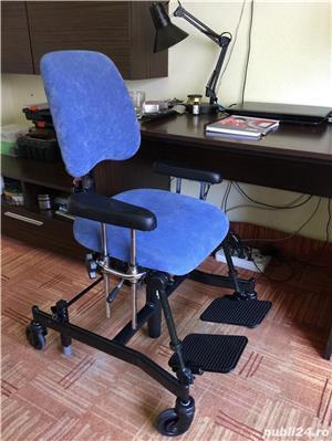 Scaun de pozitionare lucru handicap dizabilitati - imagine 2