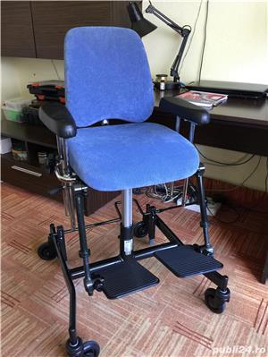 Scaun de pozitionare lucru handicap dizabilitati - imagine 8