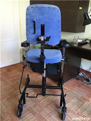 Scaun de pozitionare lucru handicap dizabilitati - imagine 5