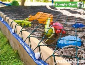 Loc de joaca Jungle Gym Cottage-Bridge-Swing - LIVRARE IN TOATA TARA - imagine 5