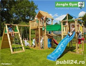 Set de joaca Jungle Gym Modul Bridge Link - LIVRARE IN TOATA TARA - imagine 2