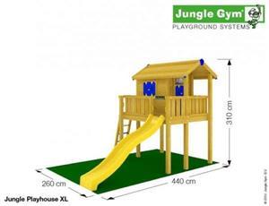 Loc de joaca Jungle Gym Playhouse platform XL - LIVRARE IN TOATA TARA - imagine 3