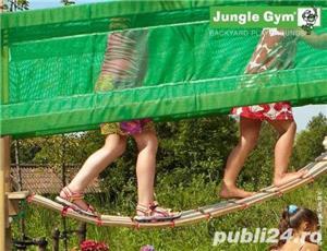 Set de joaca copii Jungle Gym Modul Bridge - Livrare oriunde in tara! - imagine 5