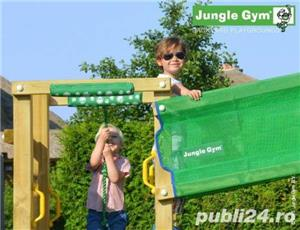 Set de joaca copii Jungle Gym Modul Bridge - Livrare oriunde in tara! - imagine 2