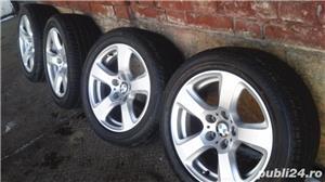 Vand set roti noi vara - janta BMW originala+anvelopa Bridgestone - imagine 2
