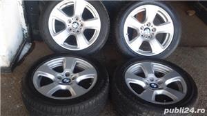 Vand set roti noi vara - janta BMW originala+anvelopa Bridgestone - imagine 6