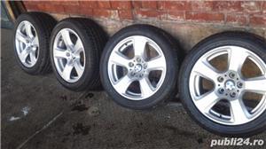 Vand set roti noi vara - janta BMW originala+anvelopa Bridgestone - imagine 5
