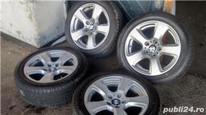 Vand set roti noi vara - janta BMW originala+anvelopa Bridgestone - imagine 4