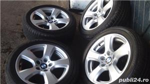 Vand set roti noi vara - janta BMW originala+anvelopa Bridgestone - imagine 1