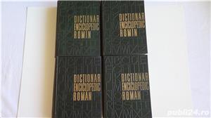 Dictionarul Enciclopedic Roman,Academia R.P.R.- 4 vol. 1962-1966  - imagine 2