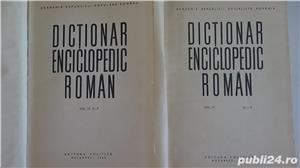 Dictionarul Enciclopedic Roman,Academia R.P.R.- 4 vol. 1962-1966  - imagine 6