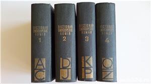 Dictionarul Enciclopedic Roman,Academia R.P.R.- 4 vol. 1962-1966  - imagine 1