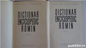 Dictionarul Enciclopedic Roman,Academia R.P.R.- 4 vol. 1962-1966  - imagine 5