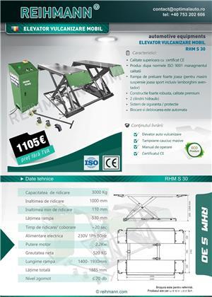 Elevator vulcanizare roti RHM S30, Garantie 2 ani - imagine 4