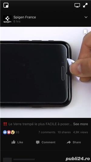 Folie sticla iPhone  - imagine 1