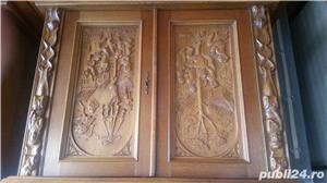 Mobila din lemn sculptata - imagine 6