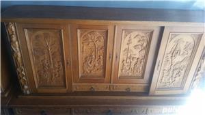 Mobila din lemn sculptata - imagine 8