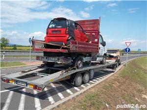 tractari  auto   - transport   auto , autoutilitare -,utilaje mici,  agricole - imagine 4