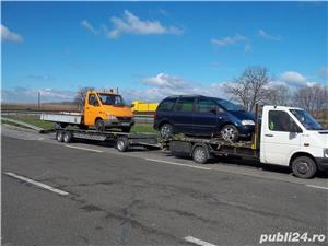 tractari  auto   - transport   auto , autoutilitare -,utilaje mici,  agricole - imagine 1