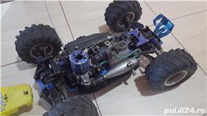 Masinuta telecomandata RC 27mhz Kyosho Inferno TR15 cu motor termic - imagine 1
