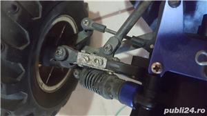 Masinuta telecomandata RC 27mhz Kyosho Inferno TR15 cu motor termic - imagine 6