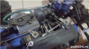 Masinuta telecomandata RC 27mhz Kyosho Inferno TR15 cu motor termic - imagine 7