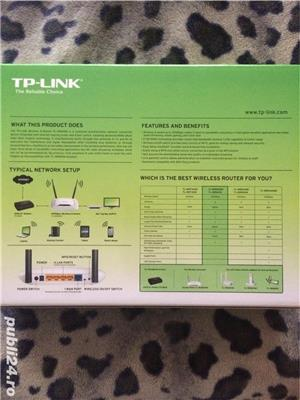 Router wireless N300Mbps TP-LINK-WR 841N - imagine 2