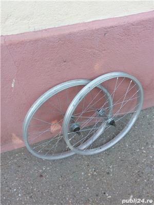 Doua roti 20 inch (fata+spate) Alloy italia pentru bicicleta pliabila - imagine 1