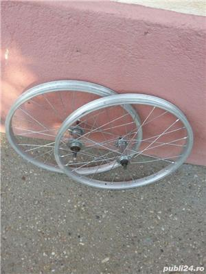 Doua roti 20 inch (fata+spate) Alloy italia pentru bicicleta pliabila - imagine 3