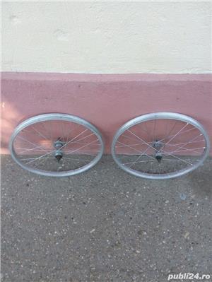 Doua roti 20 inch (fata+spate) Alloy italia pentru bicicleta pliabila - imagine 4